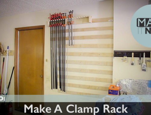 How To: Make Clamp Storage