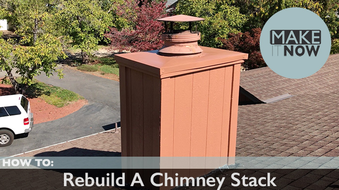 How To Rebuild A Chimney Stack Makeitnow