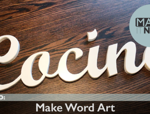 How To: Make Word Art