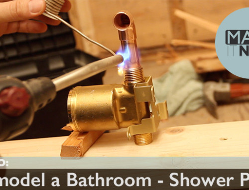 How To: Remodel A Bathroom – Shower Prep