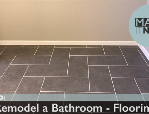 How To: Remodel A Bathroom – Flooring
