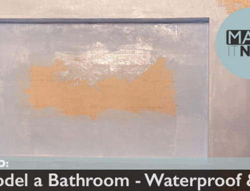 How To: Remodel A Bathroom – Waterproofing & Pan