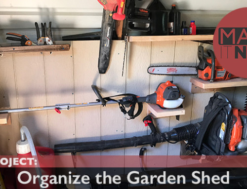 Side Project: Organize Garden Shed